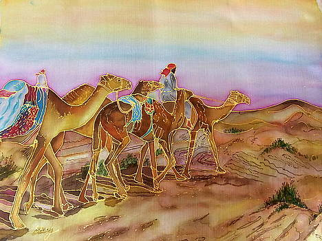 Camel Caravan by Shay Mahmood