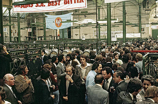 Camra beer festival London 1975 by David Davies