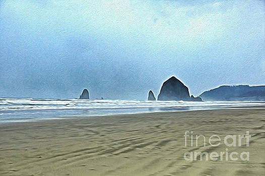 Cannon Beach by Nur Roy