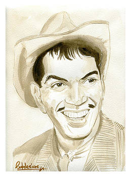 Cantinflas by David Iglesias