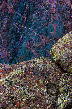 Canyon Rock Abstract by Barbara Schultheis