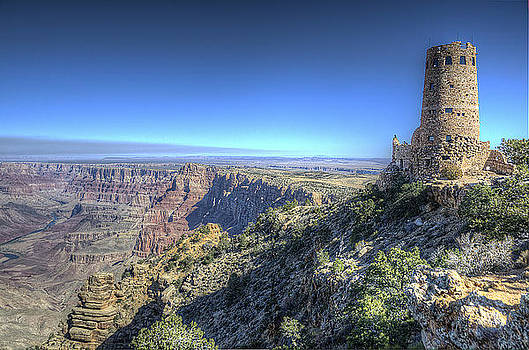 Canyon Watch Tower by Michael Misciagno