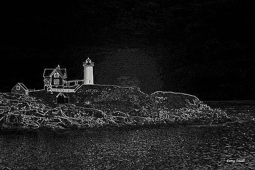 Cape Neddick Light House by Larry Small