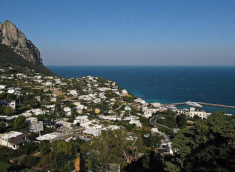 Capri view of Marina Grande by Kiril Stanchev