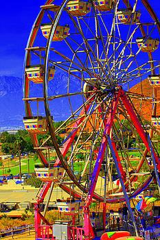 Carnival Big Wheel by Randall Thomas Stone