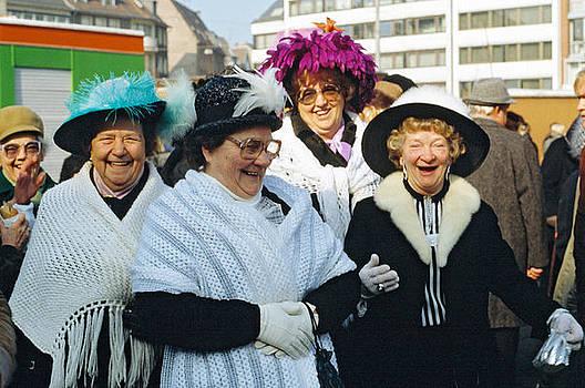 Carnival in Duesseldorf Germany circa 1980 by David Davies