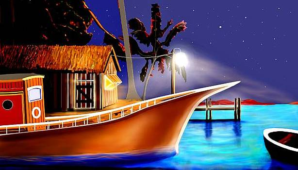 Carribean Nite by Dlbt-art