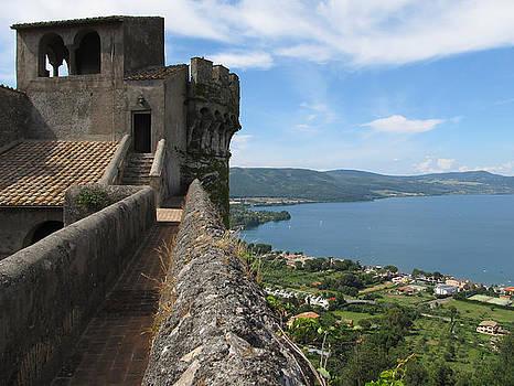 Castello Orsini-Odescalchi in Bracciano by Kiril Stanchev