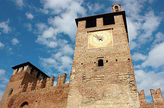 Castelvecchio in Verona by Kiril Stanchev
