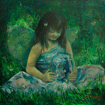 Catching fireflies by Anika Ferguson
