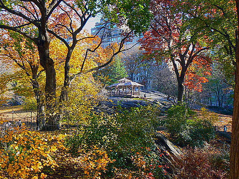 Central Park by Kimmarie Martinez