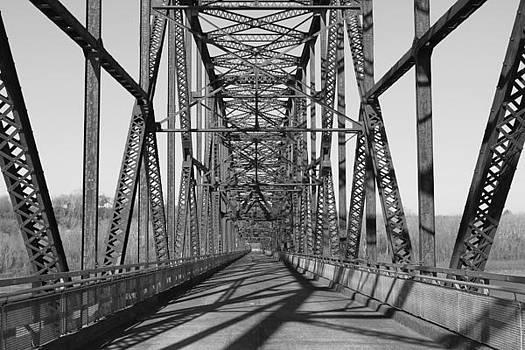 Chain Of Rocks Bridge by David Yunker