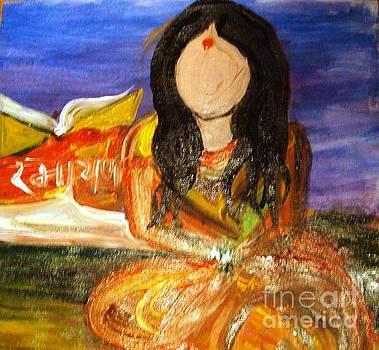 Chanting Ramayana  by Sonali Singh