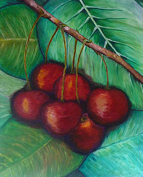 Cherries by Beata Dagiel