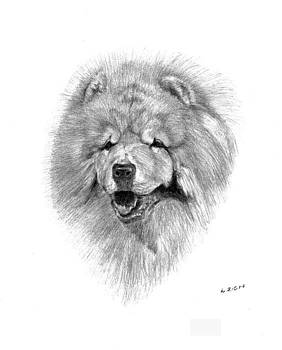 Chow Chow by Lou Ortiz