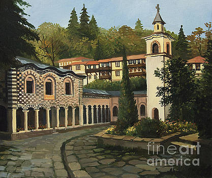 Church in Blagoevgrad by Kiril Stanchev