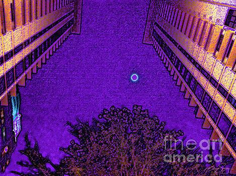 Church Street Moon by Bonnie Sprung