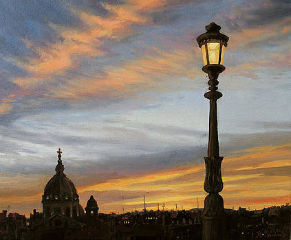 City Lights by Kiril Stanchev