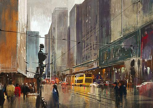 City Street Digital by