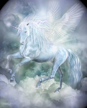 Unicorn Cloud Dancer by Carol Cavalaris