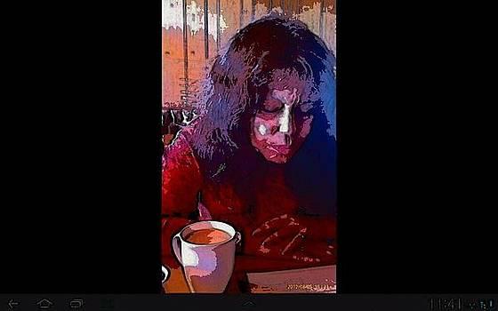 Coffee Cafe Break by Ilah Watkins