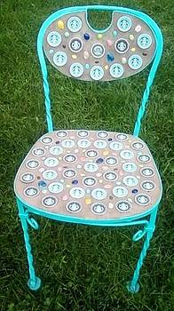 Coffee Chair by Patricia Olson