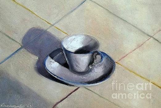 Coffee cup by Kostas Koutsoukanidis