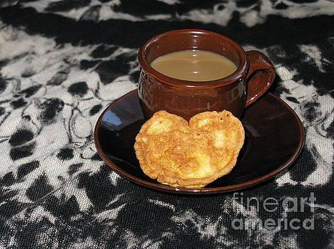 Coffee Served With Love by Ausra Huntington nee Paulauskaite