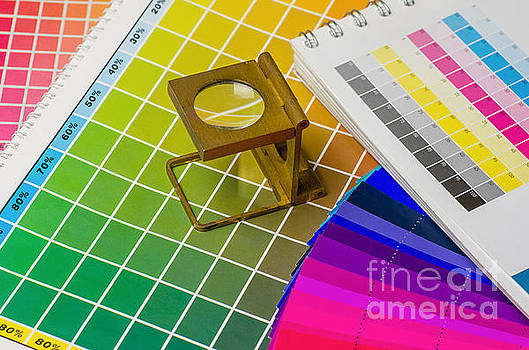 Color Guide And Color Fan With Linen Tester by Palatia Photo