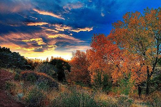 Colorado Sunset by Steve Barge