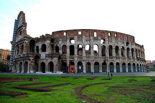 Colosseum - Flavian Amphitheatre by Philip Neelamegam