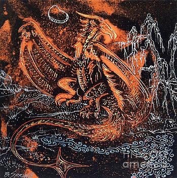 Copper Dragon by Bonnie Sprung