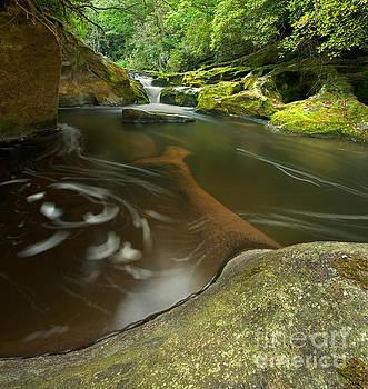 Corkscrew Falls on Chattooga River by Matt Tilghman