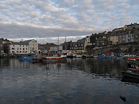 Cornwall Mevagissey by Kiril Stanchev