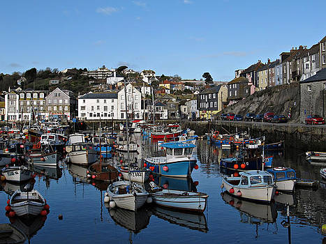 Cornwall - the port of Mevagissey by Kiril Stanchev