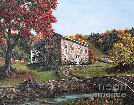 Country Home by Rita Miller