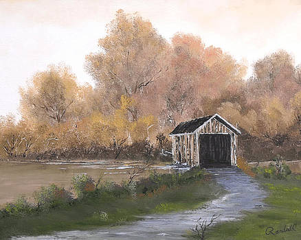 Covered Bridge by Randall Brewer