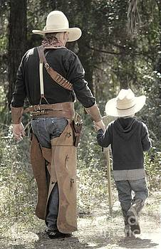 Cowboy and Son by Theresa Willingham