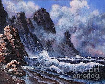 Crashing Waves by Rita Miller