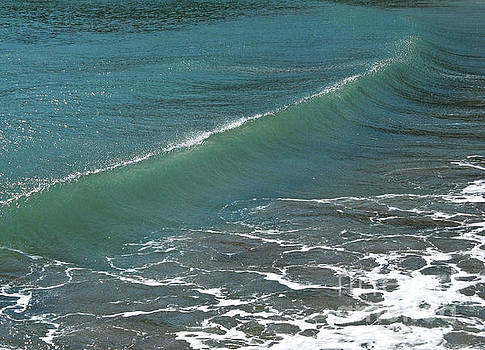 Crystal Clear Sea Wave Movement by Kiril Stanchev