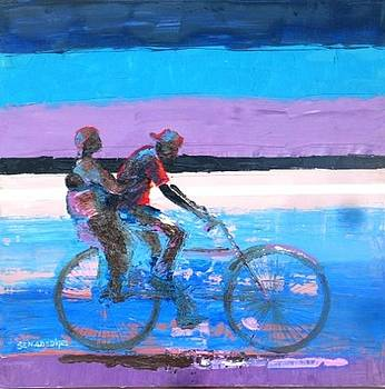 The family bicycle by Benedict Adedipe