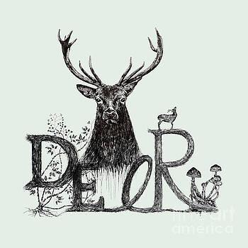 Dark Deer by Jakarin Prawatruangsri