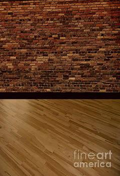 Darker Brick and Wood Backdrop by ChelsyLotze International Studio