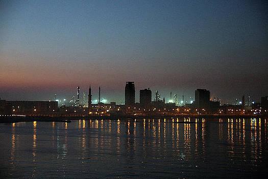 Dawn At Alexandra Egypt by Al Blount