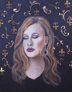 Daydreaming Goddess by The Art With A Heart By Charlotte Phillips
