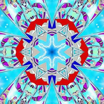 Deep Blue Geometry by Derek Gedney