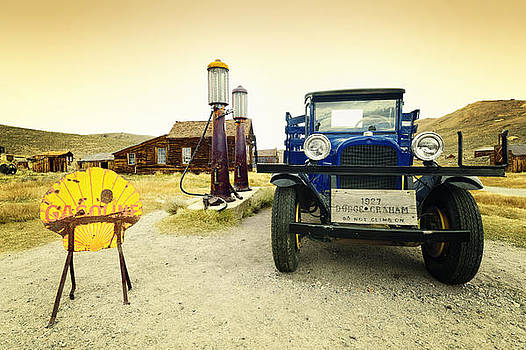 Dodge Graham 1927 In Old Bodie California Mining Town by Kriss Russell