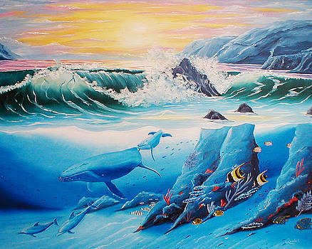 Dolphins and Whales by Randall Brewer