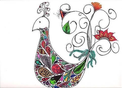 Doodle Bird by Lori Thompson
