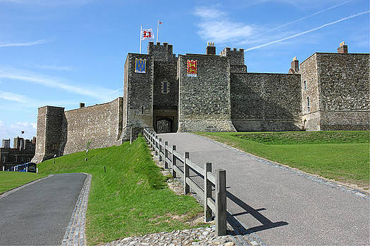 Dover Castle in Kent county by Kiril Stanchev